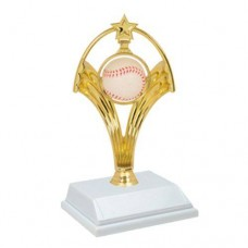"8"" Swinging Baseball Trophy"